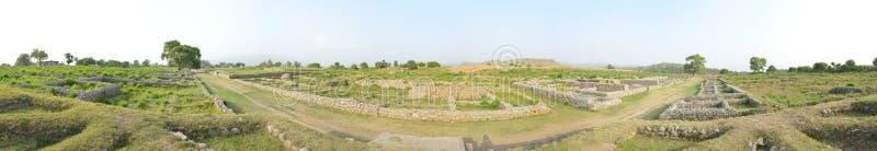 Het Panorama van Taxilaruïnes royalty-vrije stock afbeeldingen