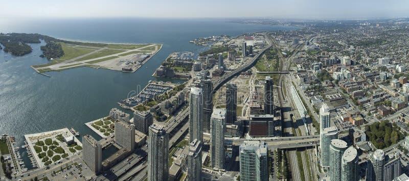 Het panorama van Toronto stock afbeelding