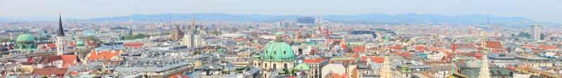 Het panorama van Wenen royalty-vrije stock fotografie