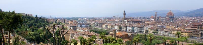 Het panoramamening van Florence royalty-vrije stock foto's