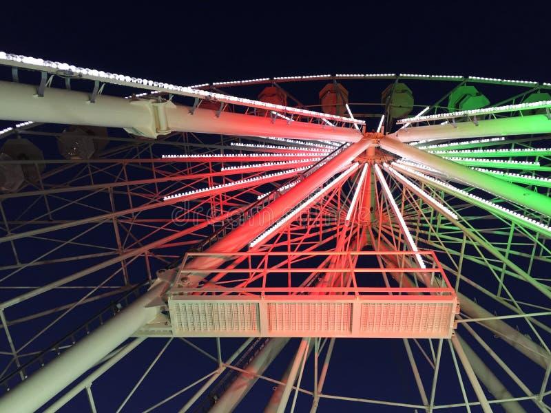Het panoramische wiel van Reims royalty-vrije stock foto