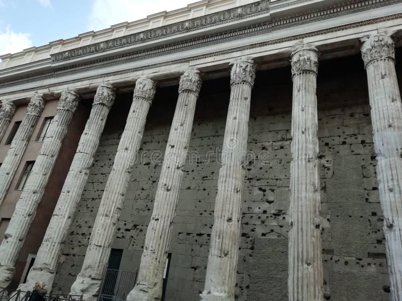 Het Pantheon van Agrippa in Rome, Italië royalty-vrije stock fotografie