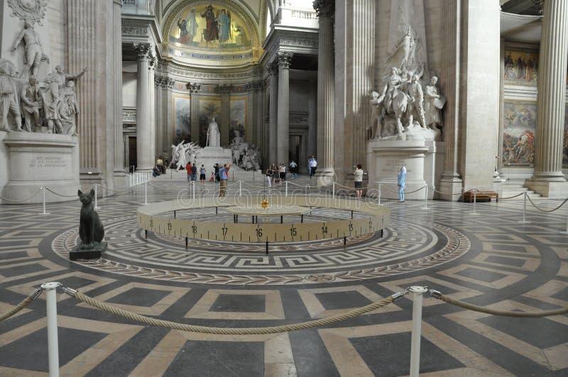 Het Pantheon van Parijs stock fotografie
