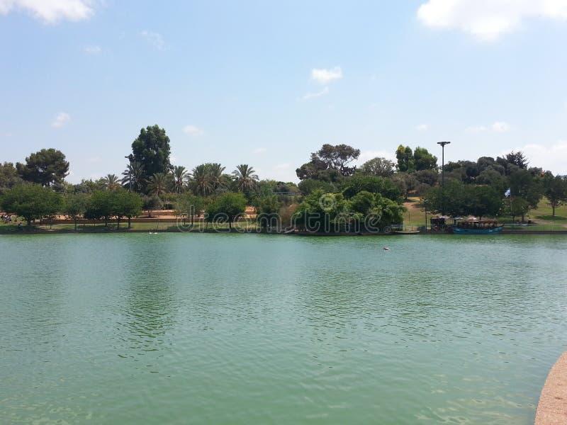 Het park in anana van Ra `, Israël royalty-vrije stock fotografie