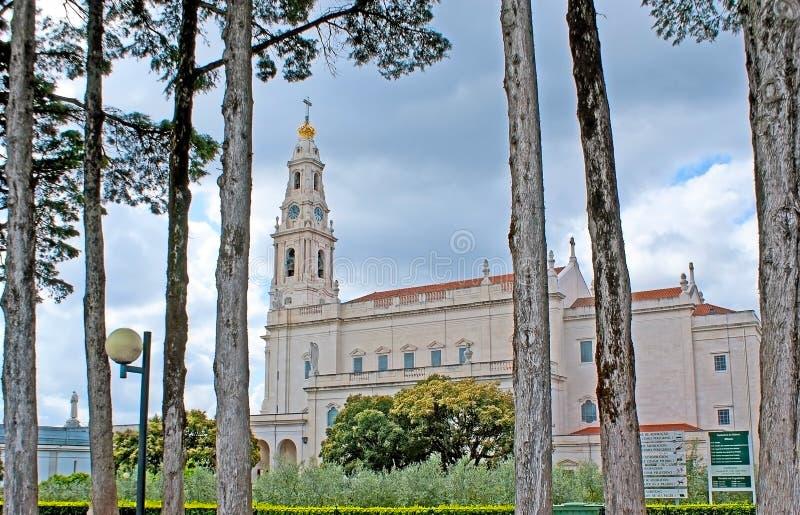 Het park in Fatima royalty-vrije stock fotografie