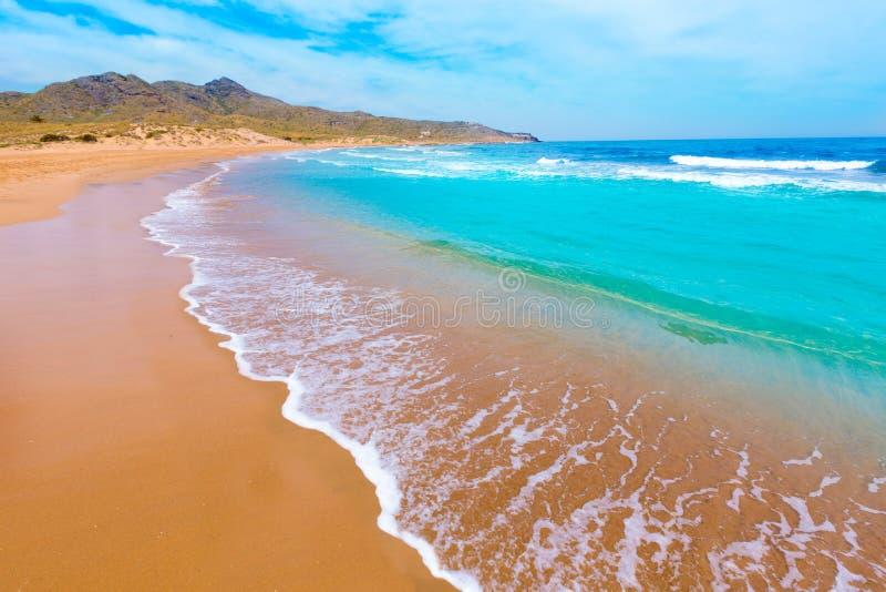 Het Park Manga Mar Menor Murcia van het Calblanquestrand royalty-vrije stock foto's
