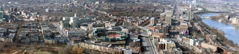 Het Park Panoramisch Boston van Fenway stock fotografie