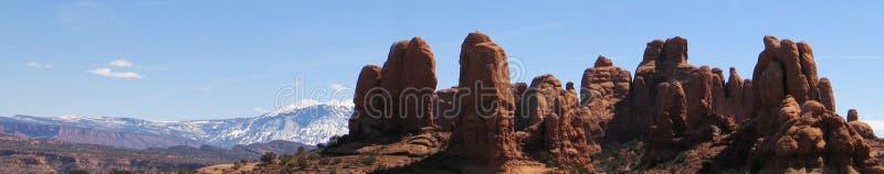 Het Park Utah van Nat'l van bogen royalty-vrije stock foto's
