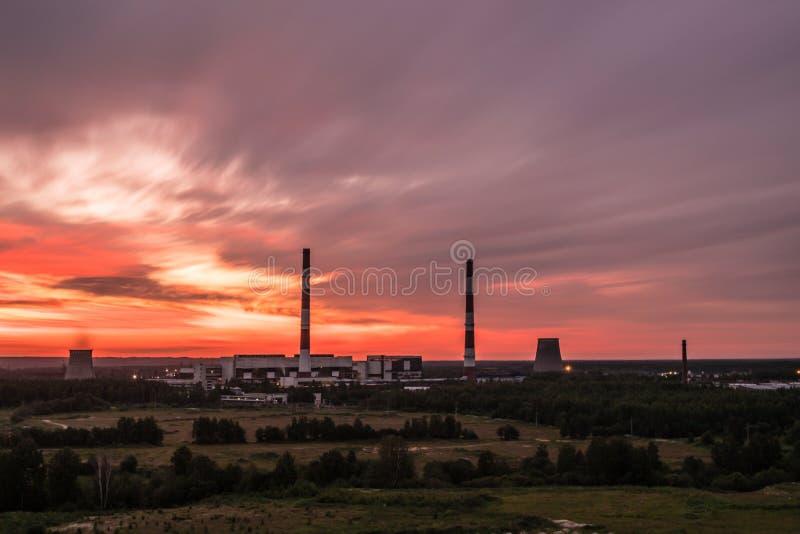 Het park van Alexandrië dichtbij Petersburg, Rusland stock foto's