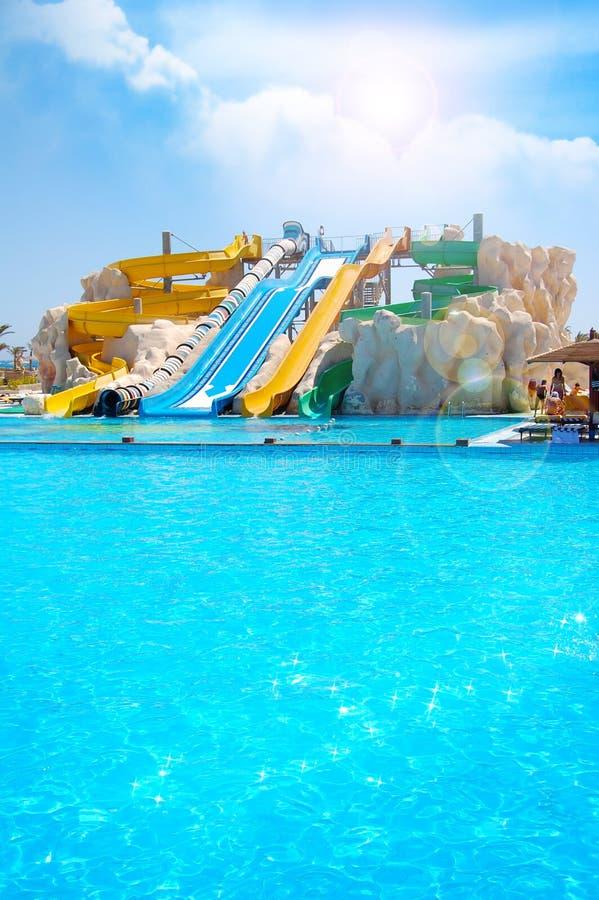 Het park van Aqua royalty-vrije stock foto