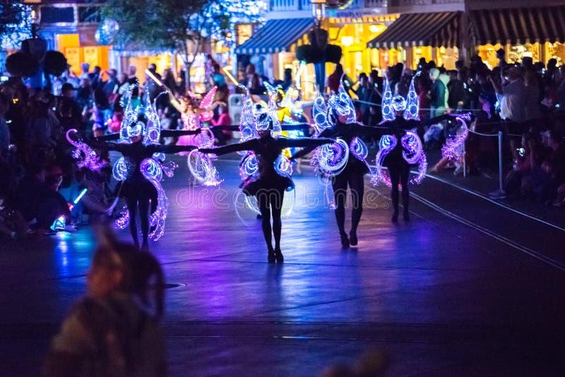 Het Park van het het Avonturenthema van Californië van Walt Disney Company in Anaheim royalty-vrije stock fotografie