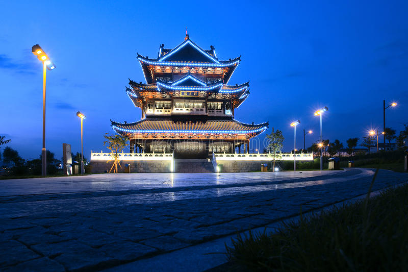 Het park van Binhe stock foto