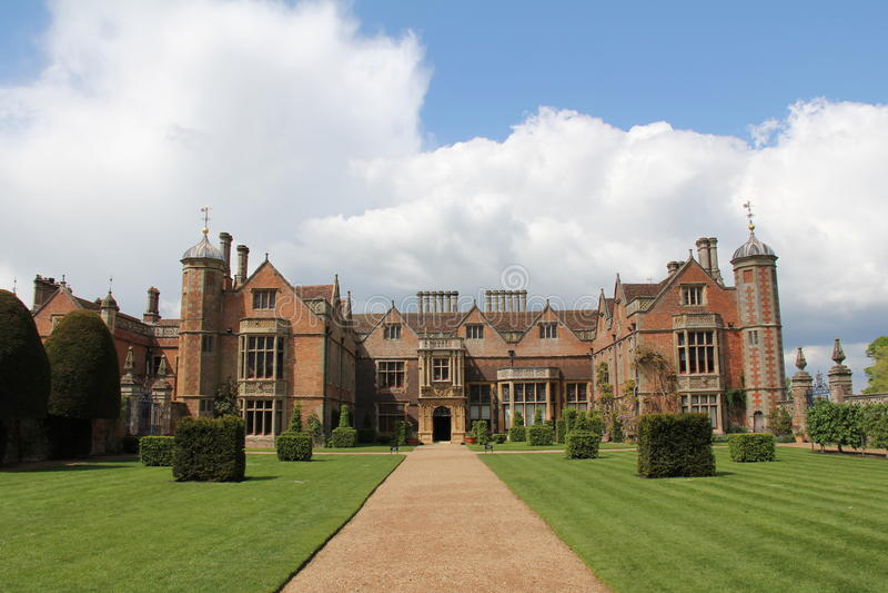 Het Park van Charlecote royalty-vrije stock foto