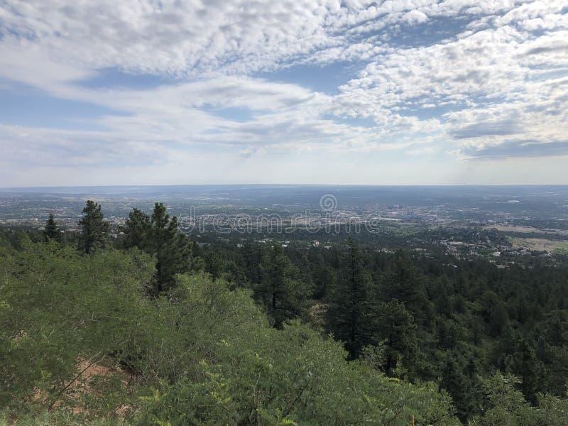 Het Park van Cheyenne Cañon stock fotografie