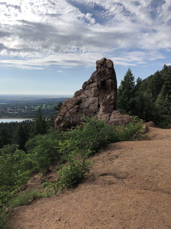 Het Park van Cheyenne Cañon royalty-vrije stock foto