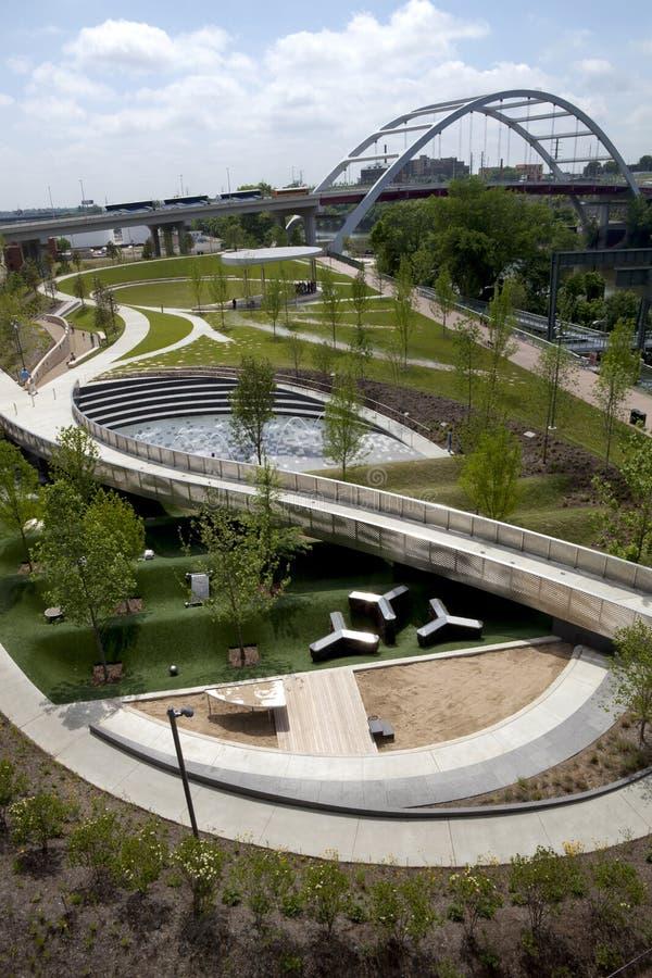 Het Park van Cumberland, Nashville stock foto's