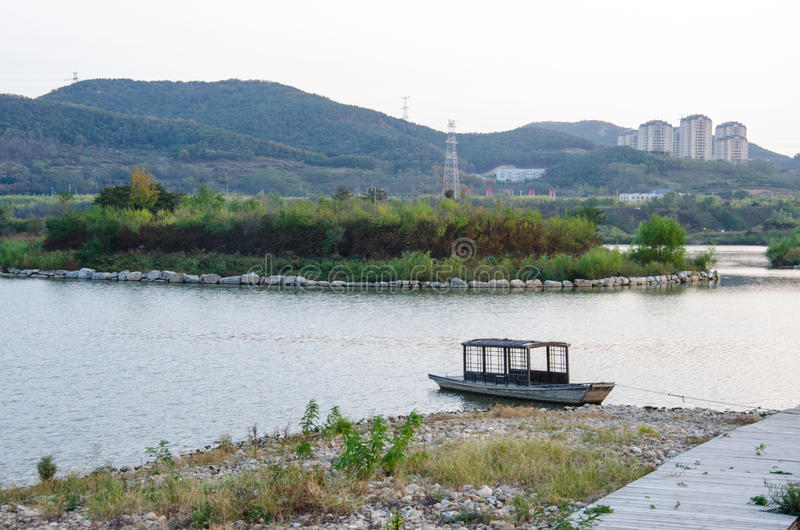 Het Park van Dalianxishanhu stock fotografie