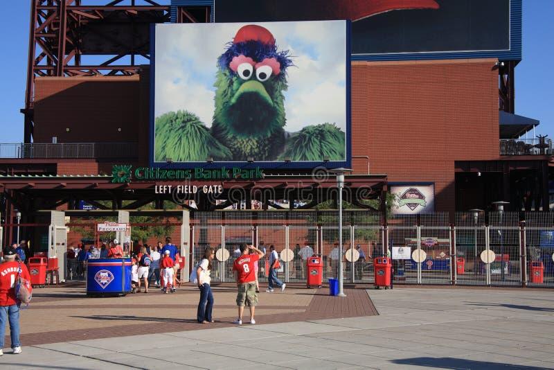 Het Park van de Bank van burgers - Philadelphia Phillies royalty-vrije stock afbeeldingen