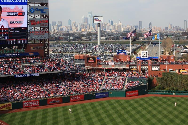 Het Park van de Bank van burgers - Philadelphia Phillies stock fotografie