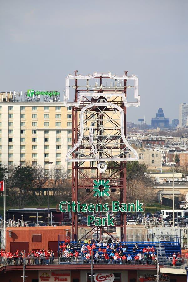 Het Park van de Bank van burgers - Philadelphia Phillies royalty-vrije stock foto's