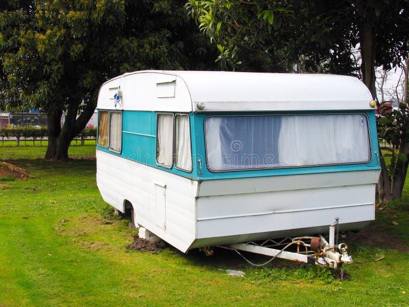 Het Park van de caravan royalty-vrije stock foto
