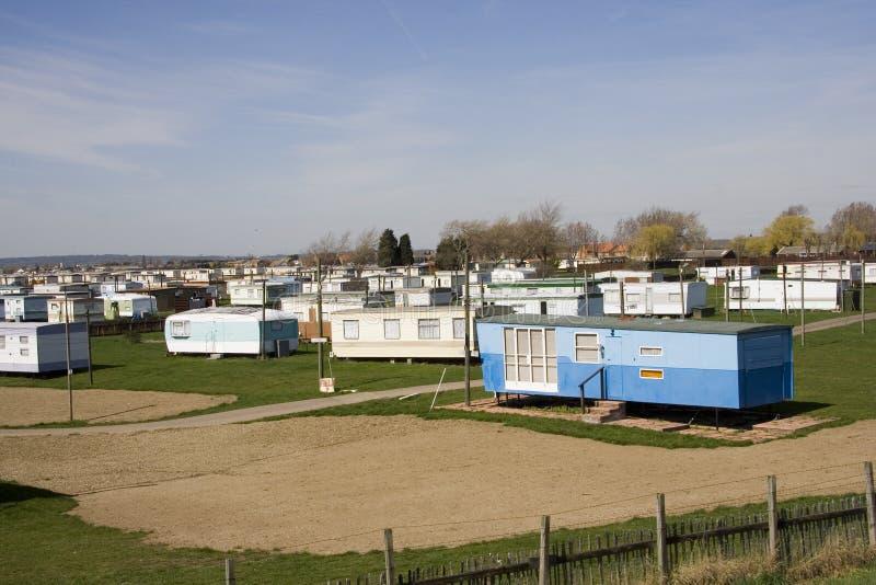 Het Park van de caravan stock foto