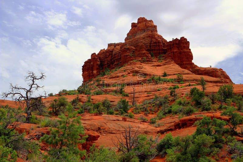 Het Park van de klokrots dichtbij Sedona, nieuw Arizona, royalty-vrije stock afbeeldingen