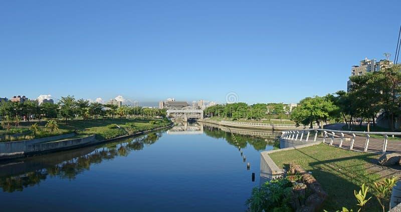 Het Park van de Liefderivier in Taiwan stock foto's