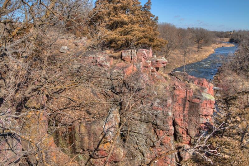 Het Park van de palissadenstaat is in Zuid-Dakota dichtbij de Stad van Zolderkamers royalty-vrije stock foto