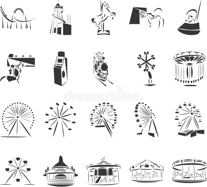 Het Park van de pret stock illustratie