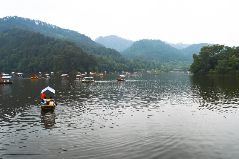 Het Park van de Qianlingsberg stock foto