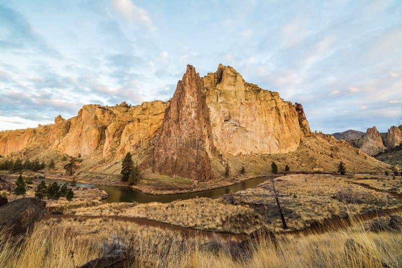 Het Park van de Staat van de Rots van Smith in Oregon royalty-vrije stock foto