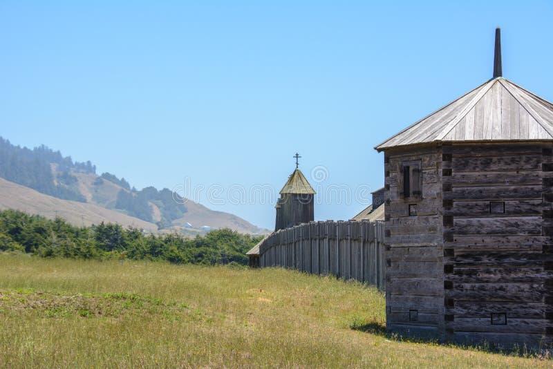 Het park van de staat van fortross in Californië, de V.S. royalty-vrije stock foto's
