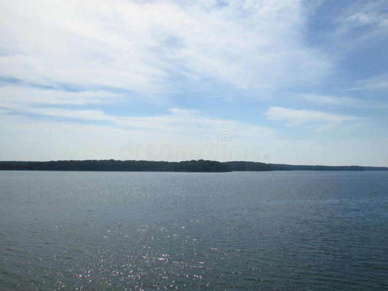 Het park van de staat van Stockton van het Stocktonmeer Missouri stock afbeeldingen
