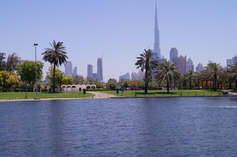 Het Park van Doubai Safa royalty-vrije stock afbeeldingen