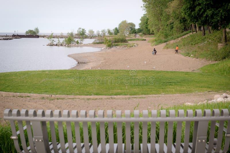 Het park van het Euclidstrand royalty-vrije stock afbeeldingen