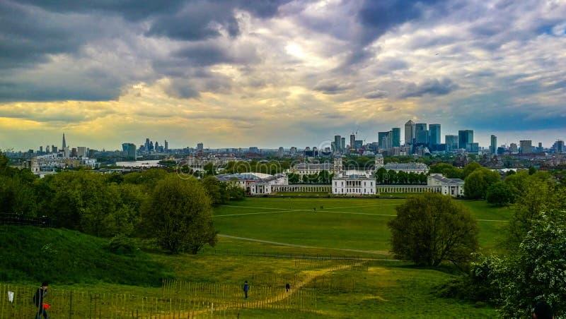 Het Park van Greenwich stock foto's