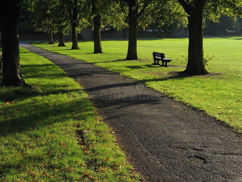 Het Park van Grovelands, N15, Londen stock afbeelding