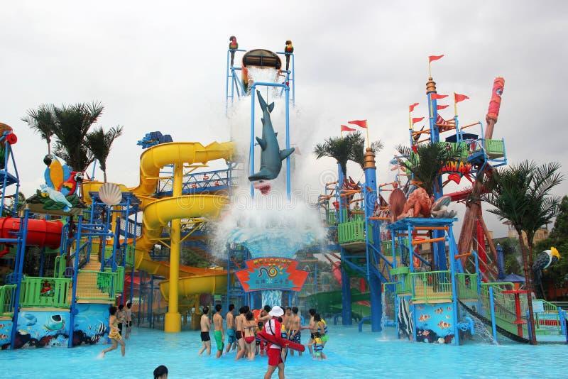 Het Park van het Chimelongwater in GUANGZHOU royalty-vrije stock afbeeldingen
