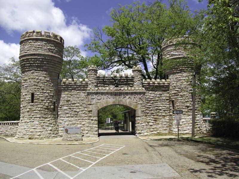 Het Park van het ingangspunt royalty-vrije stock foto