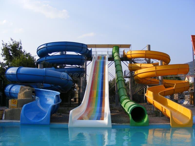 Het Park van het water stock afbeeldingen