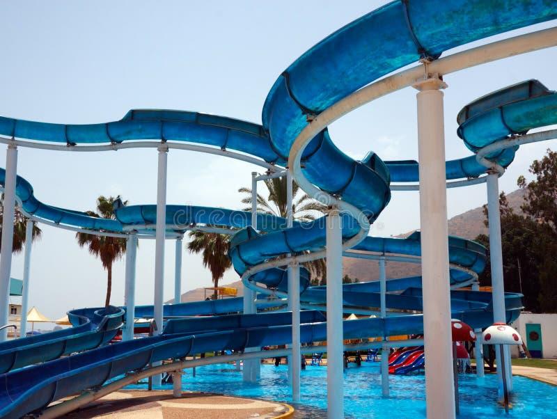 Het park van het water stock afbeelding