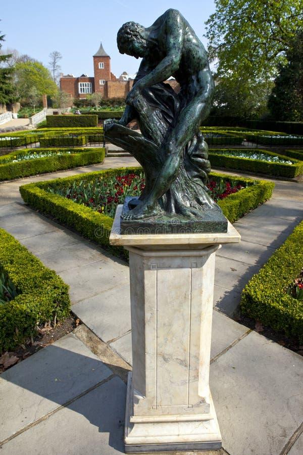 Het Park van Holland in Londen stock foto