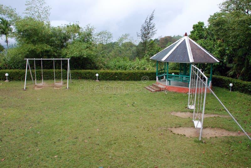 Het Park van jonge geitjes stock fotografie