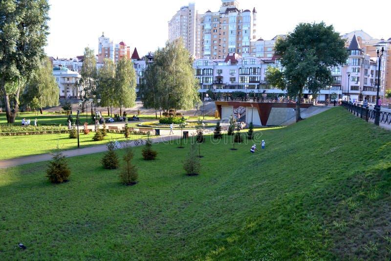 Het Park van Kiev - Natalka-op Obolon stock afbeeldingen