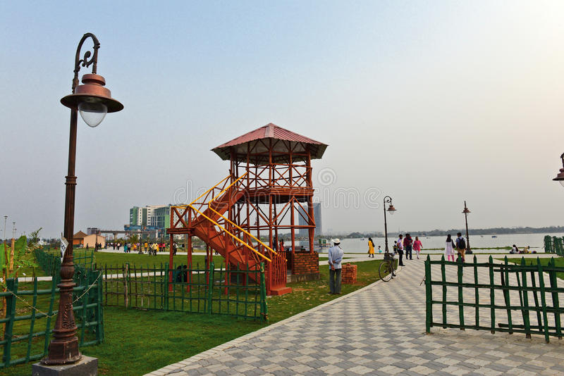 Het Park van Kolkataeco royalty-vrije stock foto's