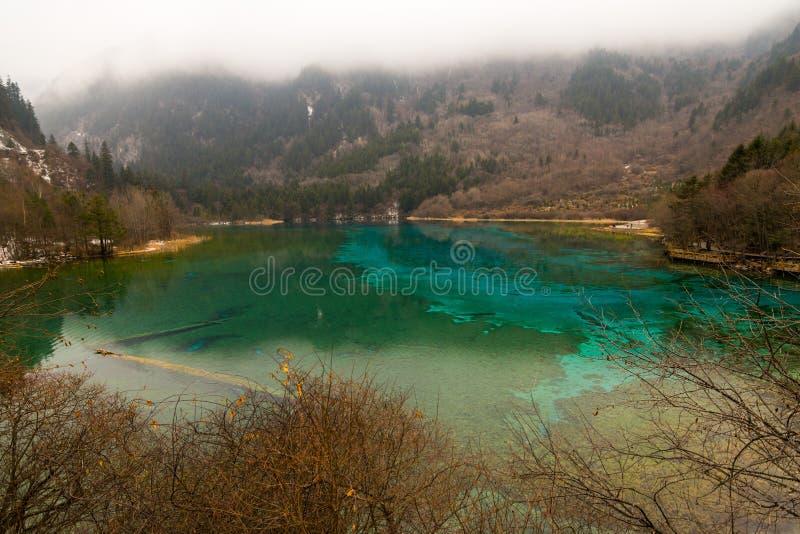 Het park van meerjiuzhaigou royalty-vrije stock afbeeldingen