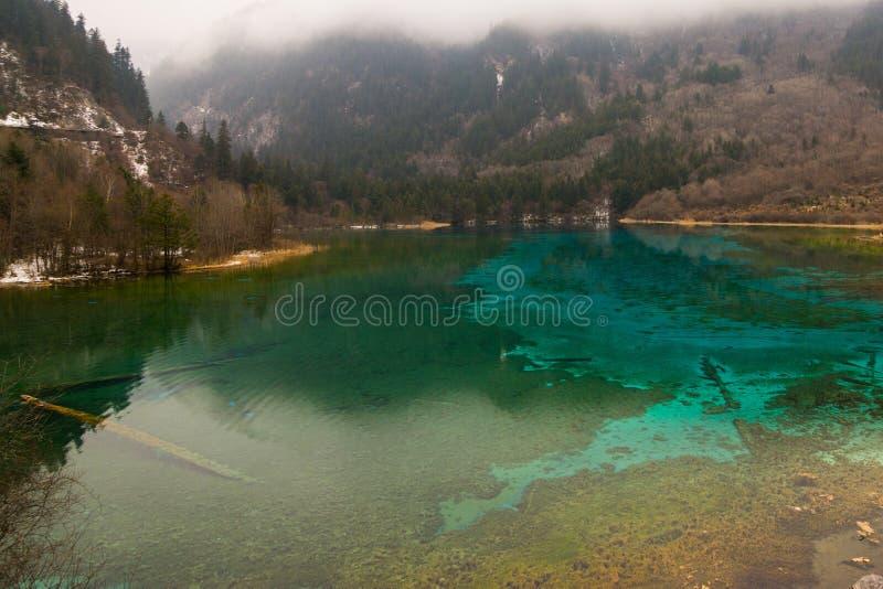 Het park van meerjiuzhaigou royalty-vrije stock fotografie