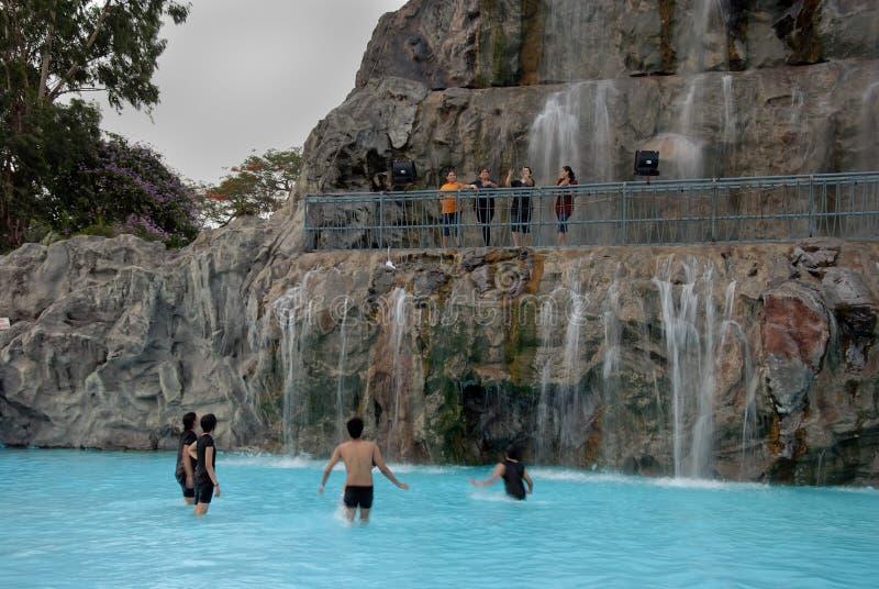 Het park van Nicco in kolkata-India royalty-vrije stock fotografie