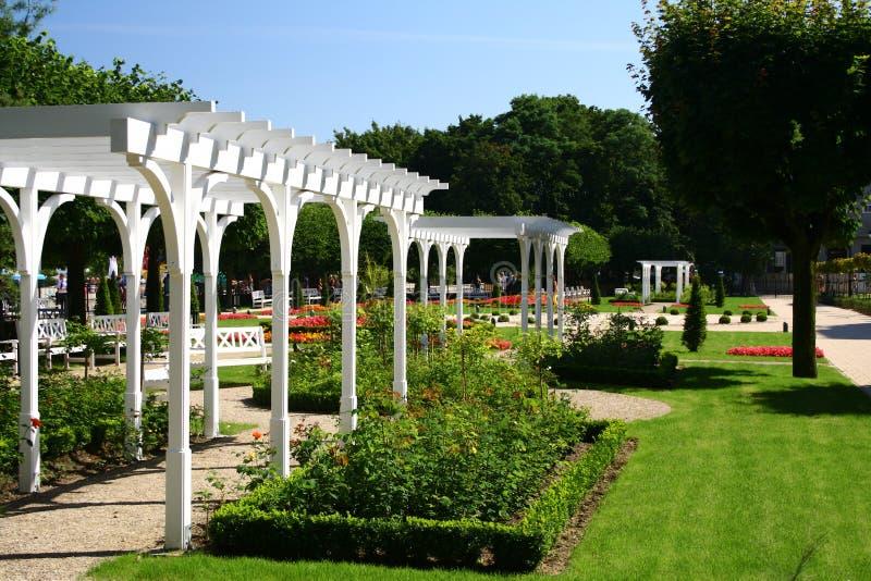Het park van Nice stock foto's